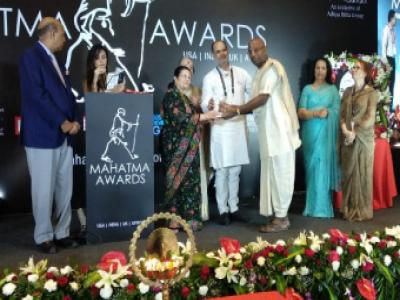 Akshaya Patra Wins The Mahatma Award for Social Good 2019
