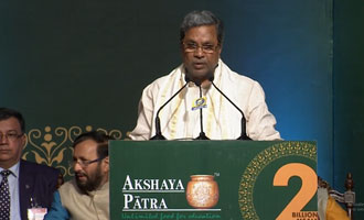 Chief Minister of Karnataka, Shri Siddaramaiah on 2 Billion Meals Commemoration