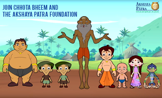 Chhota Bheem and friends join Akshaya Patra