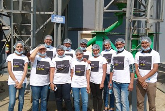 Marks & Spencer employees visit Bengaluru kitchen