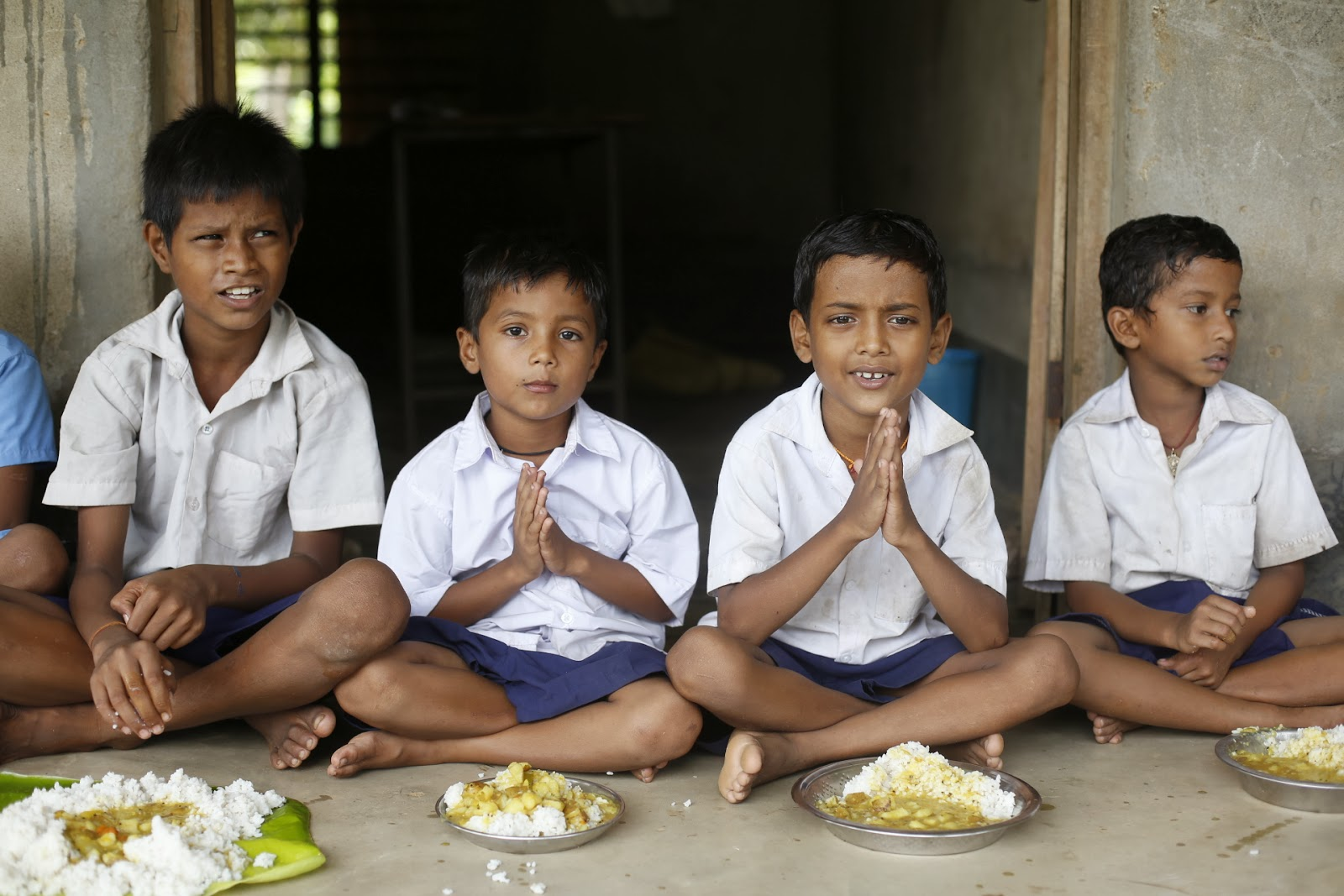 They feed 1 kid for 1 year for just Rs.750. can you feed at least one?