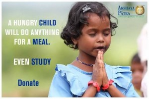 No child should GO HUNGRY!