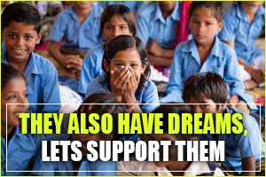 They also have dreams let's support