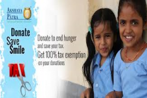Share our joy by providing nourishment and education to needy children