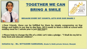 TOGETHER WE CAN BRING A SMILE