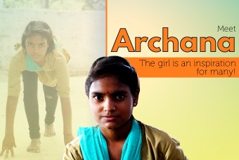 Archana: The girl who dreams of joining the police force