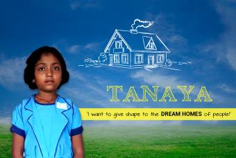 Tanaya wants to fulfil the desire called 'dream homes!'