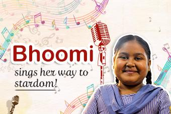 Bhoomi wants to become a super singer like Neha Kakkar.