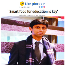 Smart food for education is key