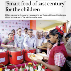 Smart food of 21st century for the children