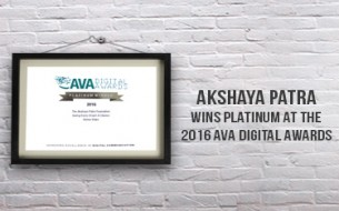 Akshaya Patra shines at the AVA Digital Awards 2016