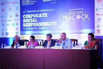 Akshaya Patra CEO speaks at 11th International Conference on CSR