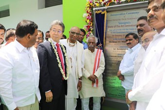 The Akshaya Patra Foundation and MUFG launch high-tech kitchen at Narsingi, Telangana
