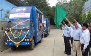 Bosch donates two vehicles to Akshaya Patra