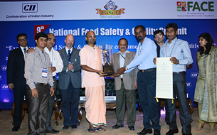 VK Hill and Hubli kitchens bag CII National Food Safety Awards 2014!
