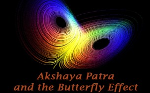 Akshaya Patra, India and the Butterfly Effect