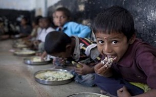 Mid-day meals boost participation in schools
