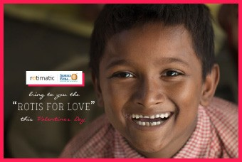 Rotimatic Joins Hands with Akshaya Patra for #RethinkVday campaign