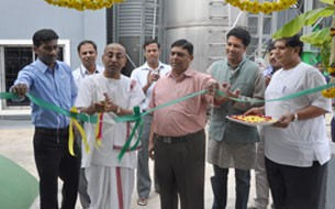 Solar plant inaugurated at VK Hill kitchen