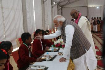 Akshaya Patra Celebrated Serving of 3 Billionth Meal
