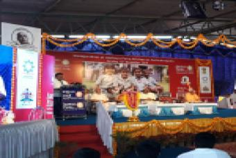 Inauguration Ceremony of Akshaya Patra's Newest kitchen in Mandya