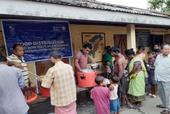 Akshaya Patra Begins Flood Relief Operation in Assam
