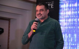 TV Mohandas Pai, Independent Trustee speaking at the event