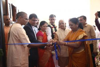 Inauguration of Akshaya Patra's 42nd kitchen in Bhuj, Gujarat