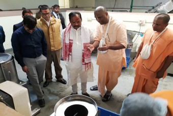 Honourable Chief Minister of Jharkhand was impressed by the facility
