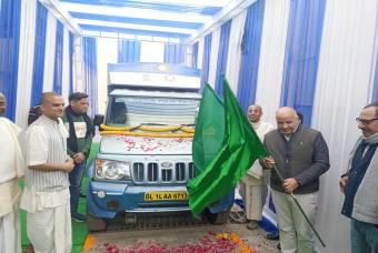 Flag off ceremony of new delivery vehicles 4 – An insightful conversation