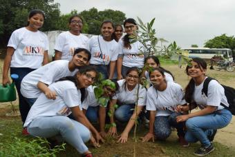 Tree plantation drive is a success