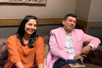 Mr Sanjeev Kapoor and Mrs Alyona Kapoor in attendance.
