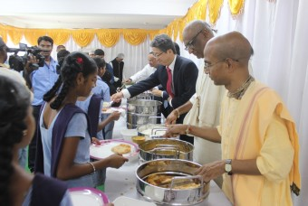 Food serving ceremony