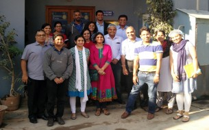 Flipkart Co-founder Mr Sachin Bansal visits Akshaya Patra kitchen