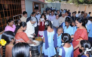 30 Deputy Secretariats visited out beneficiary school in Jayanagar