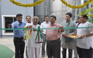 Solar Plant inauguration at VK-Hill kitchen