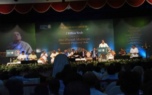 Shri Siddaramaiah, Honourable Chief Minister of Karnataka, speaking at the event