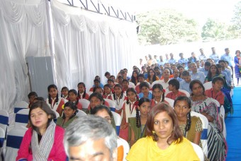 Our beneficiary children enjoy the event
