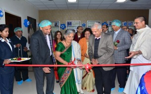 Sudha Murthy inaugurates safe drinking water project