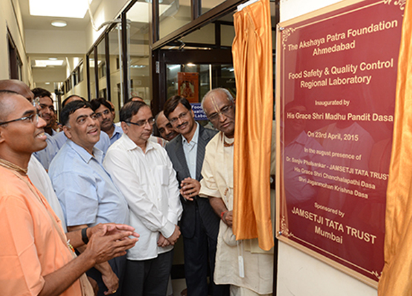 Akshaya Patra's First Food Safety and Quality Control Lab in Ahmedabad