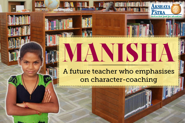 A future teacher who emphasises on character-coaching