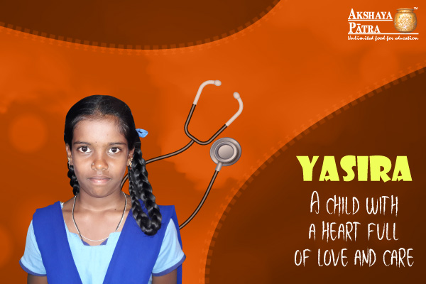 Yasira, our would-be doctor