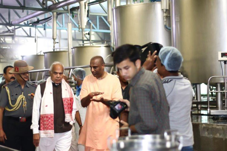 The Honourable Governor of Assam visits Guwahati kitchen