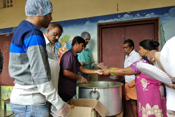 Akshaya Patra to distribute food to the affected people of flood-hit Kuttanad