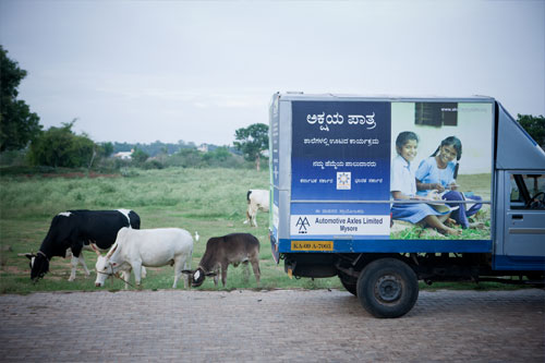 little-bus-of-the-akshaya-patra-foundation