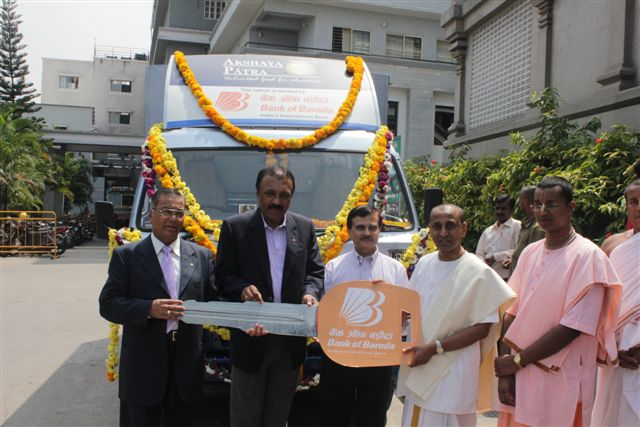 Bank of Baroda donates vehicle